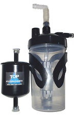 HHO Bubbler+Holder and 6 PSI Safety Valve+Drying Filter KIT for HHO Systems.