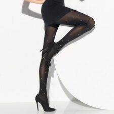 Wolford ~ RONDA ~ tights BNWT Small UK 10/12 black rrp £85 - opaque 66 denier