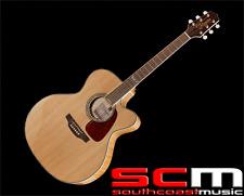 RRP$999 Takamine GJ72CENAT Jumbo Acoustic Electric Guitar With Pickup Natural