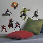 14 AVENGERS AGE OF ULTRON WALL DECALS Iron Man Thor Hulk Big Stickers Room Decor
