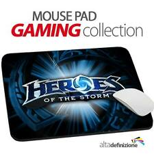 TAPPETINO MOUSE PAD Gaming 20x24 cm ANTISCIVOLO Hots Heroes of the Storm PC