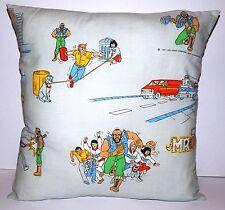 Vintage mr t série animée handmade coussin par geek boutique une équipe