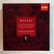 DANIEL BARENBOIM - MOZART complete piano concertos EMI 10xCDs NM