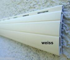 Rolladen Ersatz Lamellen Maßanfertigung PVC weiß Breite 130 cm