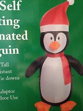 4' Penguin Christmas Inflatable Airblown Outdoor Christmas Decor