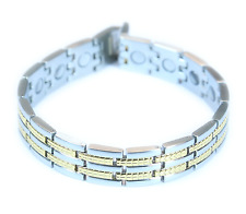 Titanium Magnetic Energy Therapy Bracelet with Link Remover