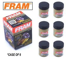 6-PACK - FRAM Ultra Synthetic Oil Filter - Top of the Line - FRAM's Best XG7317