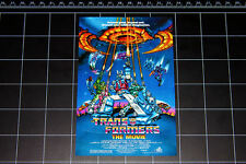 Transformers The Movie 1986 poster style logo decal sticker G1 80s autobot toy