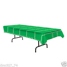 FOOTBALL Tailgate Super Bowl Sports Party Decoration FOOTBALL FIELD TABLE COVER