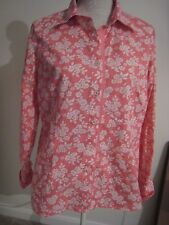 WOMENS BODEN FLORAL BLOUSE SIZE 16