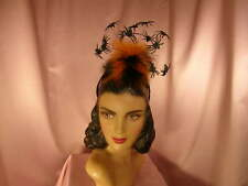 ~Flying spiders headband with feathers~ COSTUME PARTY~NEW~