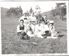 VINTAGE 1918 MILL VALLEY SAN FRANCISCO CALIFORNIA TENNESSEE COVE BEACH OLD PHOTO