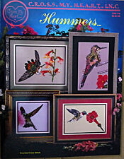 "Cross-my-heart-Inc - "" Hummers"""" Cross Stitch Chart Booklet"