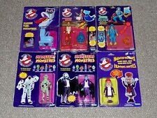 1980s Kenner Ghostbusters Lot of 6 MOC Figures & Ghosts Ray Egon Granny Gross