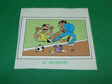 MASSEUR / JOUEUR POINTE PRO SDO CIMI RECUPERATION PANINI FOOTBALL 76 1975-1976