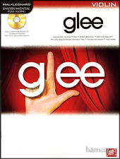 Glee Violin Instrumental Play-Along Music Book +CD