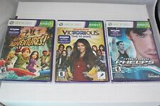 Lot Of 3 Microsoft Xbox 360 Games Michael Phelps, Victorious, Kinect Adventures