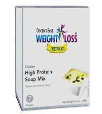 Doctors Best Premium - Chicken Flavor High Protein Diet Soup