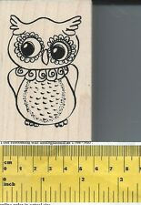 """""""Curious Owl"""" Rubber Stamp by Judikins"""