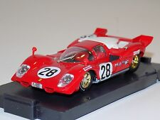 1/43 Brumm Models Ferrari 512S #28 Daytona 1970 Andretti Merzario Ickx AS IS