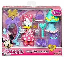 Fisher- Price Disney Minnie Party Princess Daisy Duck 12 Pieces Playset New