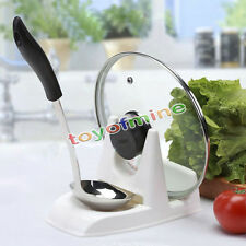 Spoon Rack Rest Pot Pan Lid Rack Stand Holder Kitchen Cooking Utensil Tool