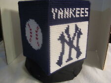 Sports Tissue Box Cover ~ Handcrafted ~ **Gift Idea ~ Yankees
