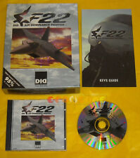 F22 DID AIR DOMINANCE FIGHTER Pc Versione Inglese Big Box »»»»» COMPLETO