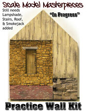 Practice Wall Kit w/How-To Booklet YORKE/Scale Model Masterpieces On3