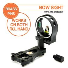 Xhunter Fibre Optic 5 Pin Archery Bow Sight w/LED Light Hunting For compound Bow
