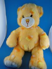 """Adorable  Halloween Build A Bear Approx 15"""" Orange  with Halloween Candy Corn"""