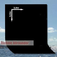 Hintergrund Stoffhintergrund schwarz 3x6 m für Foto-Studio Muslin von METTLE