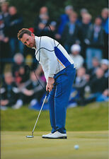 Graeme McDOWELL Ryder Cup SIGNED AUTOGRAPH Golf Photo AFTAL COA Team EUROPE