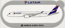 Official Airbus Sticker:  Latam A350-900 of Chile