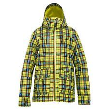 BURTON Women's METHOD Snow Jacket - Aloe Gypsy Plaid - XS - NWT