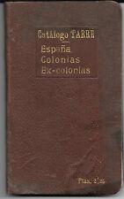 España y Ex Colonias. Catalogo de sellos de Francisco del Tarré