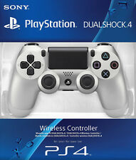 Sony PlayStation 4 PS4 Dualshock 4 Controller Brand New Silver Newest Version