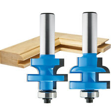 Round Rail and Stile Router Bit Set