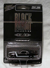 Johnny Lightning Black Bandit 70 Ford Boss 302 Mustang
