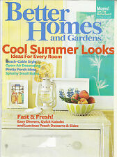 Better Homes and Gardens August 2010 Shady Areas/Cummer Looks/Open Air Decor