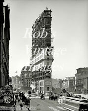 New York City Building NY Times Bldg 1900s Vintage Antique photo print