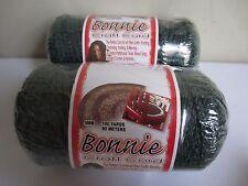 Lot of 2 rolls Antique Jade 4mm Bonnie Braid Braided Macrame Craft Cord 200yds