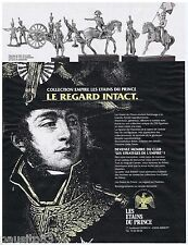 PUBLICITE ADVERTISING 105  1993  LES ETAINS DU PRINCE collection EMPIRE