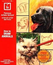 How to Draw Animals (Famous Artists School: Step-By-Step Method), Cortina Famous