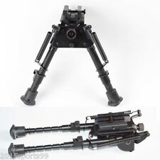 "6""-9"" Harris Style Bipod Adjustable Length Heavy Duty 50 Degree Tiltable pivot"