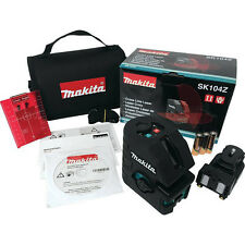 Makita Self-Leveling Horizontal/Vertical Cross-Line Laser SK104Z New