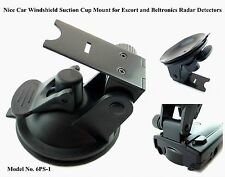** Car Windshield Suction Cup Mount for Escort and Beltronics Radar Detectors **