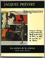 PRÉVERT Jacques. Imaginaires. Genève, Skira, 1970. Avec 26 collages de Prévert.