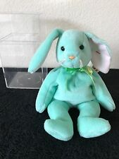 Hippity TY Beanie Baby - Rare errors on tags and ribbon oddity - must see!