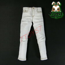 ACI Toys 1/6 Moda 710_ White Jeans only _Fashion AT037E